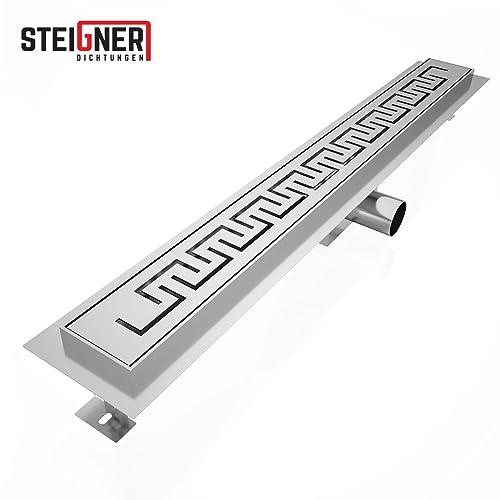Steigner Casablanca SDR90 Shower Drain Drain Stainless Steel 80 cm