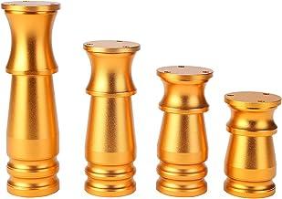 Set van 4 verstelbare meubelpoten, DIY aluminiumlegering bankvoeten, moderne metalen tafelpoten, geschikt voor meubels voe...