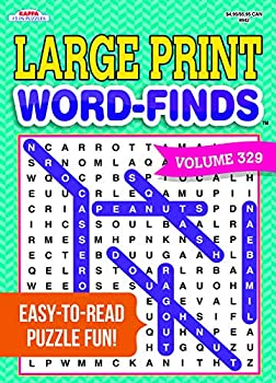 Large Print Word-Finds Puzzle Book-Word Search Volume 329