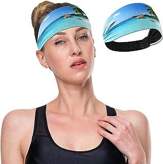 Diadema atlética de yoga para adultos para correr, deportes, viajes, entrenamiento de absorción elástica, antideslizante, ...