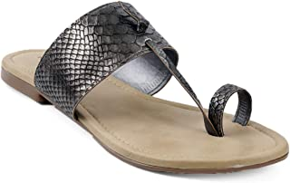 meriggiare Women Textured Slip-ons Toe Ring Casual Cum Ethnic Festive Occasion Wear Flats & Chappals (NOTE:: If you have b...