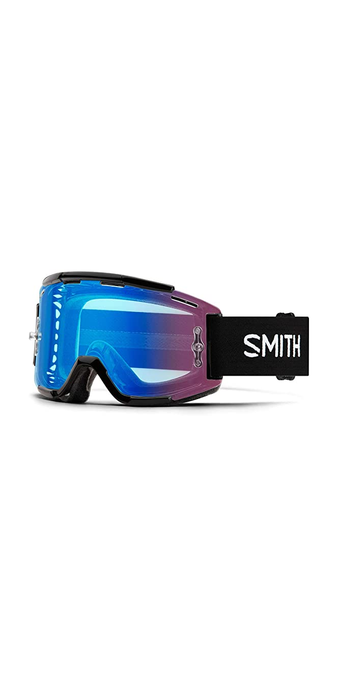 Smith Optics Squad Adult MTB Off-Road Cycling Goggles - Black/ChromaPop Contrast Rose/One Size