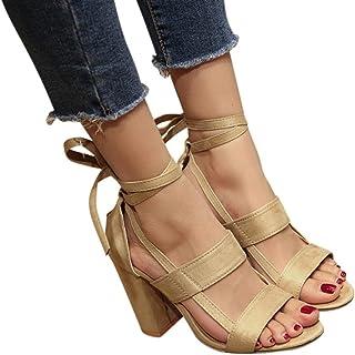 d72c8e69e739 Amazon.es: Cordones - Zapatos de tacón / Zapatos para mujer: Zapatos ...