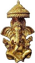 Worth Having - Ganesha Buddha Statue, Feng Shui Ornaments Figurine, Resin Elephant God Sculpture, Living Room Home Garden ...