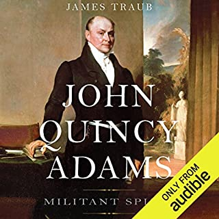 John Quincy Adams audiobook cover art