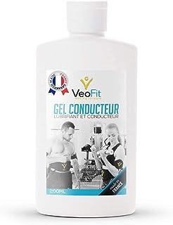 VeoFit- Gel Conductor Electrodos Electroestimulacion EMS y TENS, Gel de Contacto para Electroestimulador Muscular- Mejora el Contacto electrodos y Protege la Piel - Fabricado en Francia