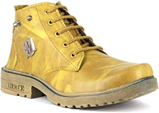 JOGS Trend Boys/Kids Synthetic Leather Ankle Boot Shoes