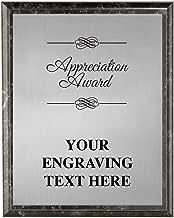 Corporate Plaques - 5 x 7 Etched Recognition Trophy Plaque Awards Prime