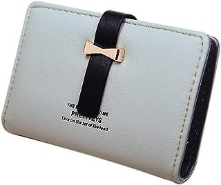 [G+J] クレジットカードケース 大容量 レディース カードケース かわいい おしゃれ カードホルダー 084 (グレー)