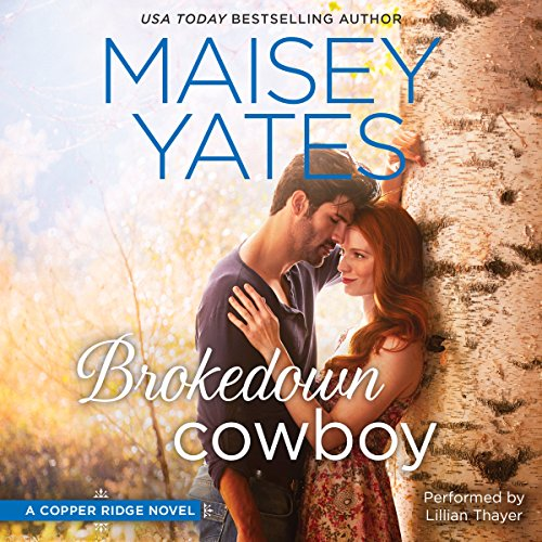 Brokedown Cowboy audiobook cover art