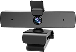 1080P Web Camera, 60FPS Webcam with Microphone, Qtniue USB Webcam Desktop or Laptop, Streaming Webcam for Computer Widescr...