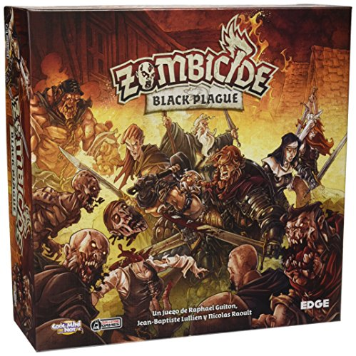 Edge Entertainment- Zombicide: Black Plague, Color (EDGBP001)