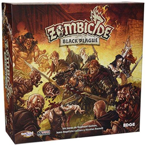 Edge Entertainment- Zombicide: Black Plague, Color (EDGBP001)