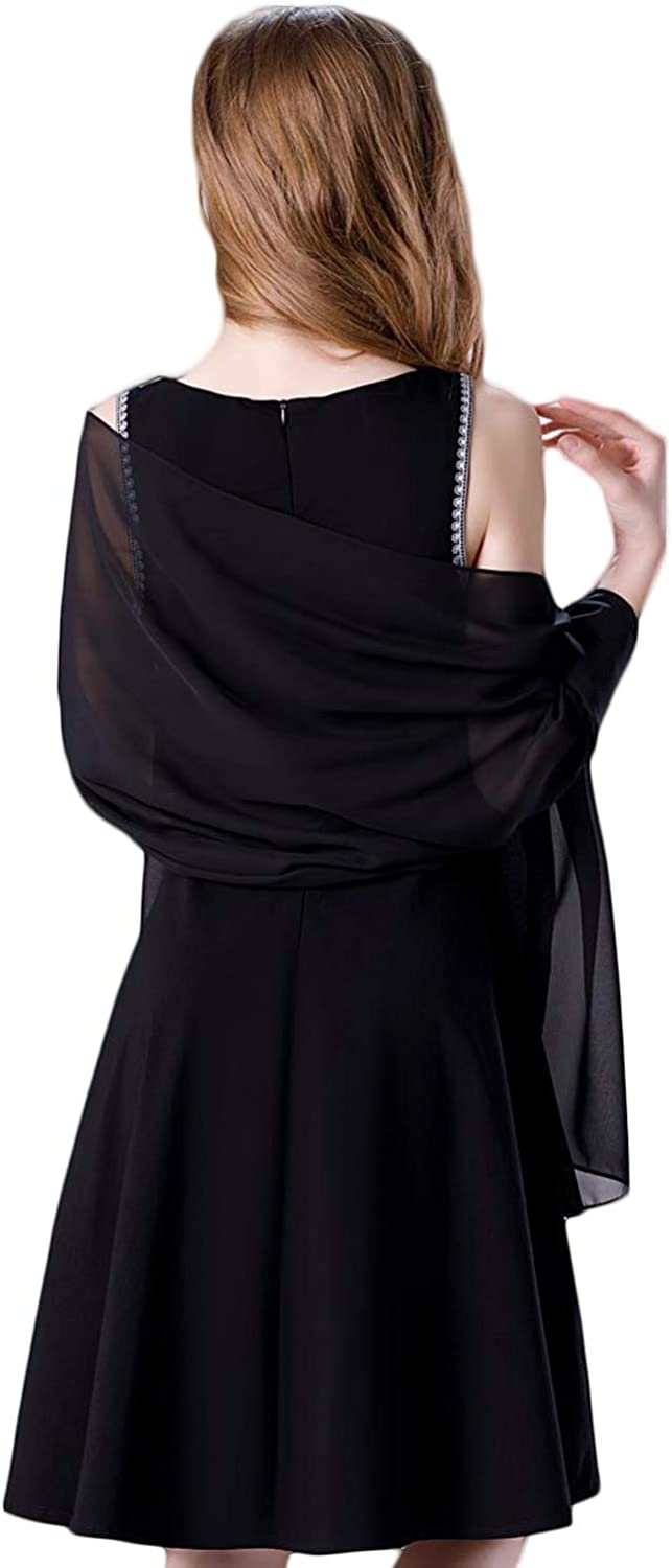 Soft Chiffon Scarve Shawls Wraps New color for Accessories Women Dresses At the price of surprise