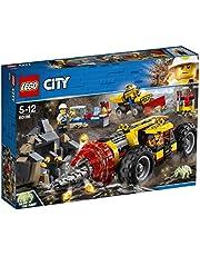 LEGO 60186 City Mining tung borr för gruvdrift (ej längre såld av tillverkaren)