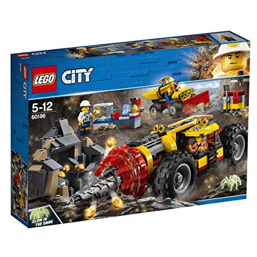 LEGO City - Mina Perforadora Pesada, Juguete Creativo de