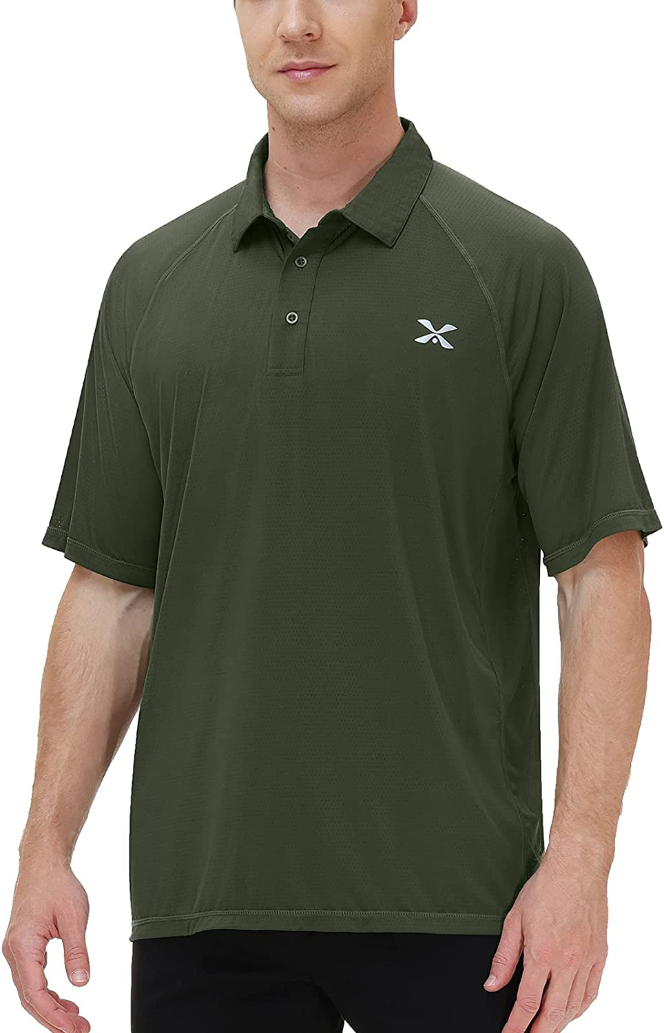 Corna Men's Golf Our shop OFFers the best service Polo Shirt Limited time sale Long Moisture Performance Wicking an