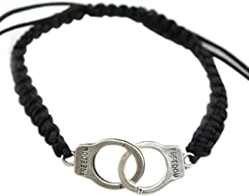 DLNCTD Women Men Punk Bracelet Braided Handcuffs Fine Jewelry Gift KQS