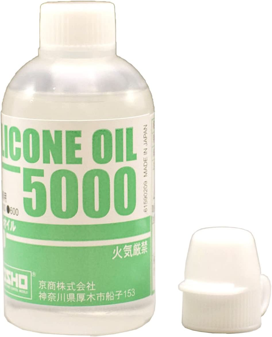 Kyosho SIL5000 5000 Weight Silicone Oil, 40cc