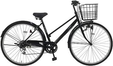 C.Dream(シードリーム) ココブラック CC76-BK 27インチ自転車 シティサイクル ブラック 6段変速 100%組立済み発送
