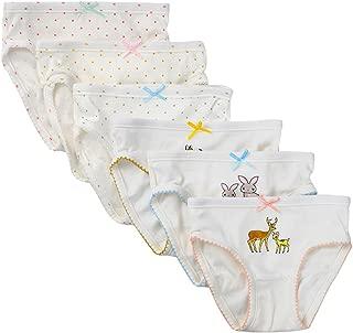 Closecret Kids Underwear Soft Cotton Toddler Panties Little Girls' Assorted Briefs