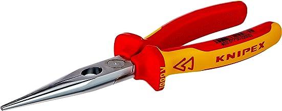 KNIPEX Platspitse tang met zijsnijder (telefoontang) 1000V-geïsoleerd (200 mm) 26 16 200
