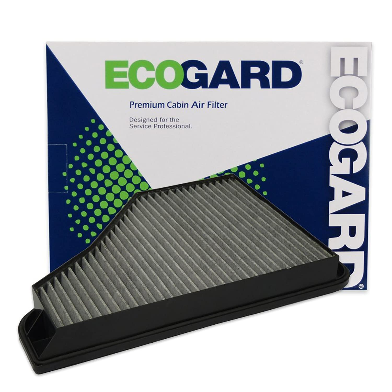ECOGARD XC45460C Cabin Air Filter with Activated Carbon Odor Eliminator - Premium Replacement Fits Mercedes-Benz S320, S500, S420, S600, S350
