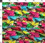 Pferd, Pony, Reiten, Pferde, Ponys, Liebe Stoffe -