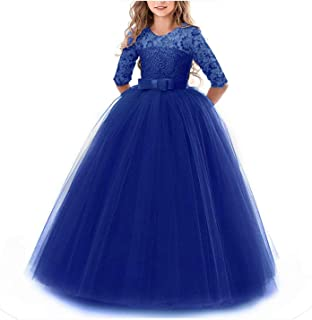 Surprise S Kids Bridesmaid Flower Girl Dresses Party Wedding Dress Children Gown Girls Princess Dress