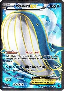 Pokemon - Wailord-EX (147/160) - XY Primal Clash - Holo