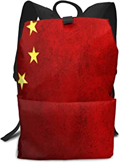 Great China Flag School Backpack 1th 2th 3th Grade for Boys Teen Girls Kids