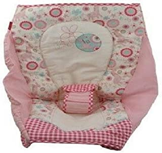 Replacement Seat Pad Cushion/Cover for Fisher Price Rock N Play Sleeper (X2532 Pink Gingham Giraffe)