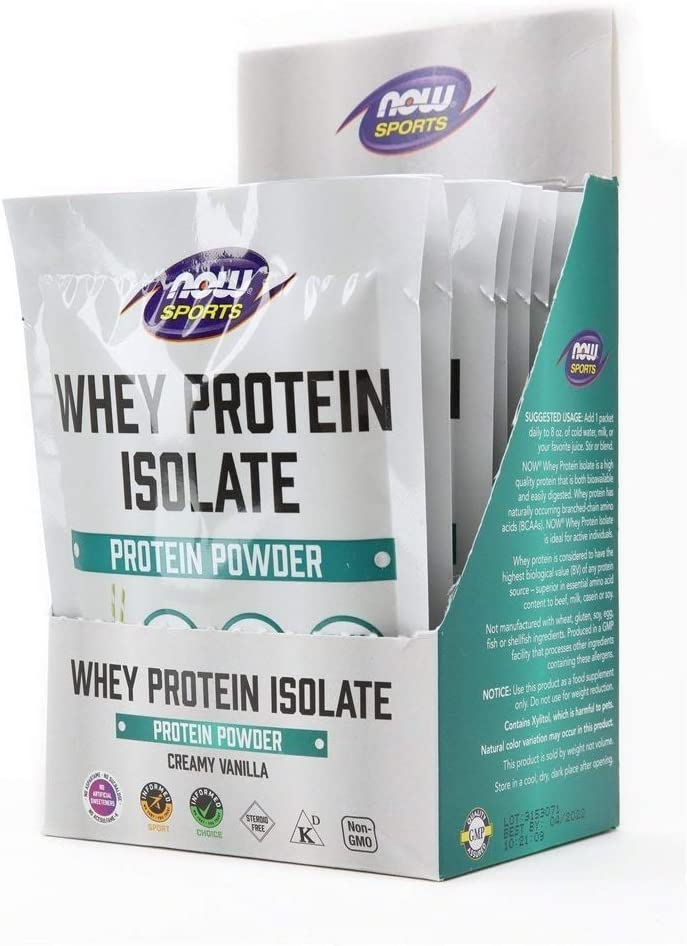NOW Foods Sports Nutrition Whey Protein Branded Popular brand in the world goods Bcaa 25 with Isolate G