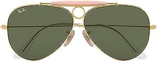 Ray-Ban RB3138 SHOOTER Unisex Aviator Sunglasses