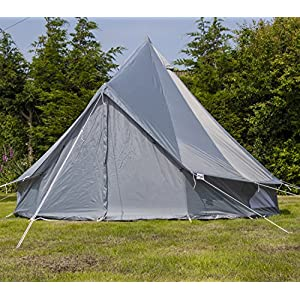 Andes 3m Oxford Bell Tent With Heavy Duty Zipped In Groundsheet, Camping, Glamping, Festival, Luxury Teepee