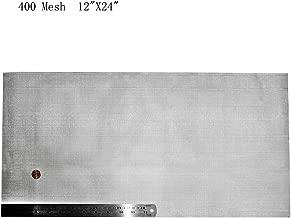 Best 200 mesh stainless steel screen Reviews
