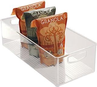 iDesign Caja transparente para el frigorífico, organizador