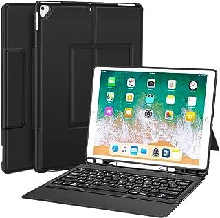 Sounwill Hülle mit Tastatur für iPad Pro 32,8cm (12,9Zoll) (deutsches Layout nicht garantiert)
