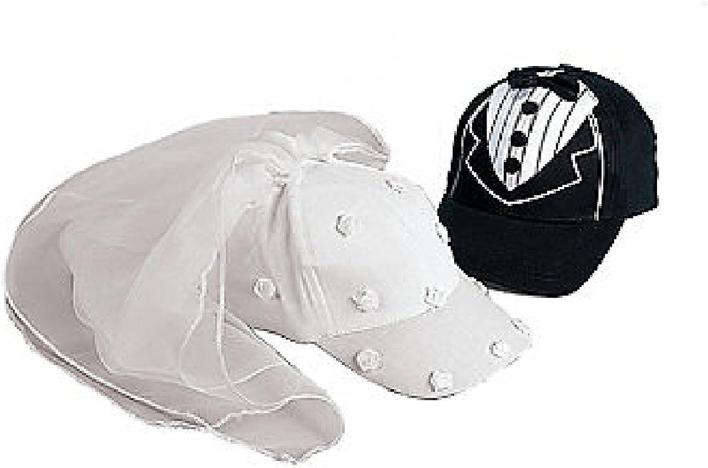 Bride And Groom Baseball Hat Set