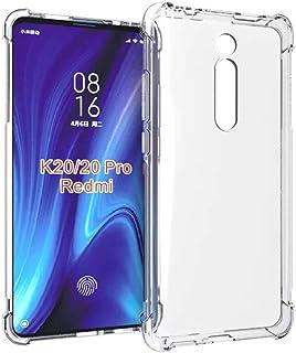 YZKJ Fodral för Xiaomi Mi 9T Pro/Redmi K20 Pro skydd, mjuk mobiltelefonväska transparent TPU mobiltelefonfodral silikon vä...