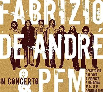 Fabrizio de Andre' e PFM in concerto