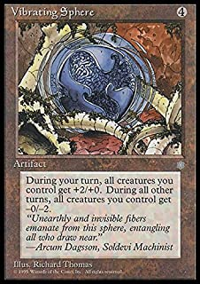 Magic: the Gathering - Vibrating Sphere - Ice Age