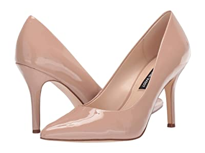 Nine West Flax Pump (Barely Nude) High Heels