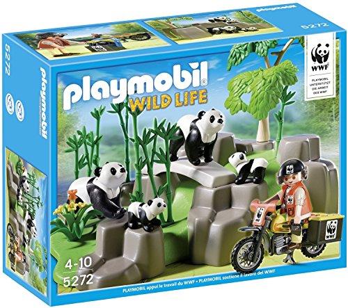 Playmobil - Investigador Pandas Bosque bambú 5272