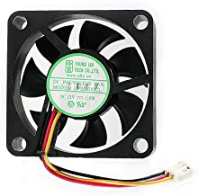 Young LIN G450270 DC 12V Brushless Cooling Fan 35x35x10mm 3Pin 3Wire -3Pack