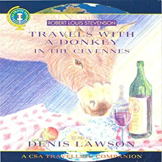 Travels with a Donkey in the Cevennes audiobook cover art