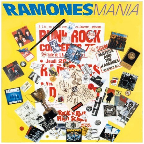 Mania by Ramones (1990-06-26)