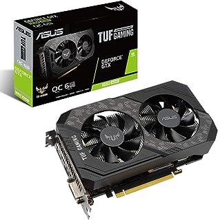 ASUS TUF Gaming GeForce GTX 1660 Super OC Edition 6GB GDDR6 - Tarjeta gráfica (OC 1845 MHz, 7680x4320 Pixeles, PCI Express...