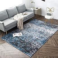 ベッドルームカーペット 光ラグジュアリーヨーロッパスタイルのカーペット、リビングルームカーペット、ホームマット、コーヒーテーブル、ベッドサイド毛布 滑り止め (Color : B, Size : 160x230cm)