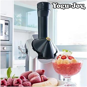 Yogu Joy Frozen Yogurt - Heladera, 220 W, color negro y plata ...